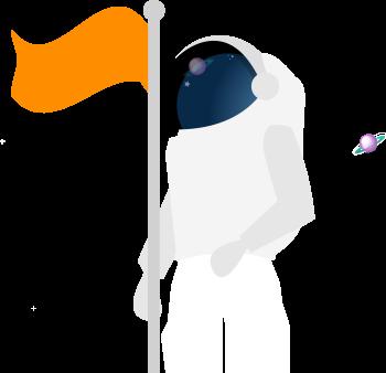 Astronauta que puedes hacer con Nubox