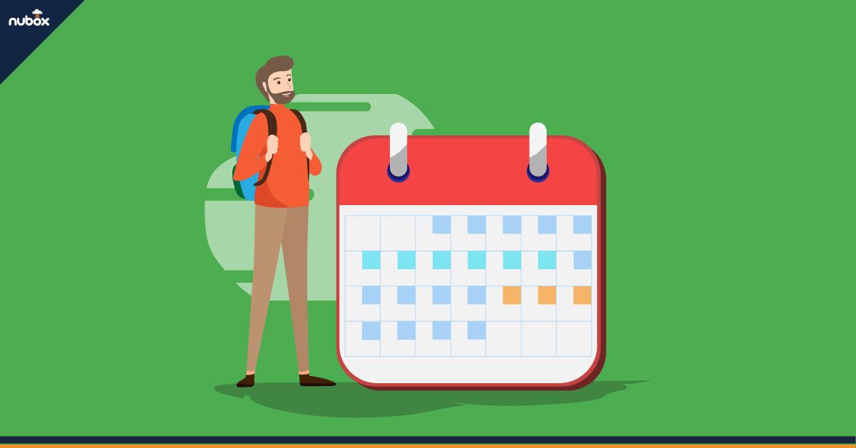 ¿Cómo se calculan las vacaciones progresivas?