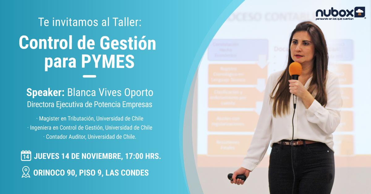 Taller: Control de gestión para Pymes